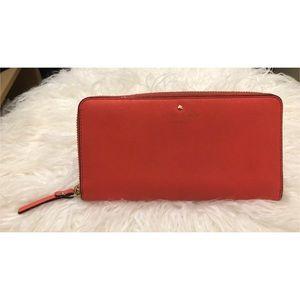 Kate Spade Orange Wallet